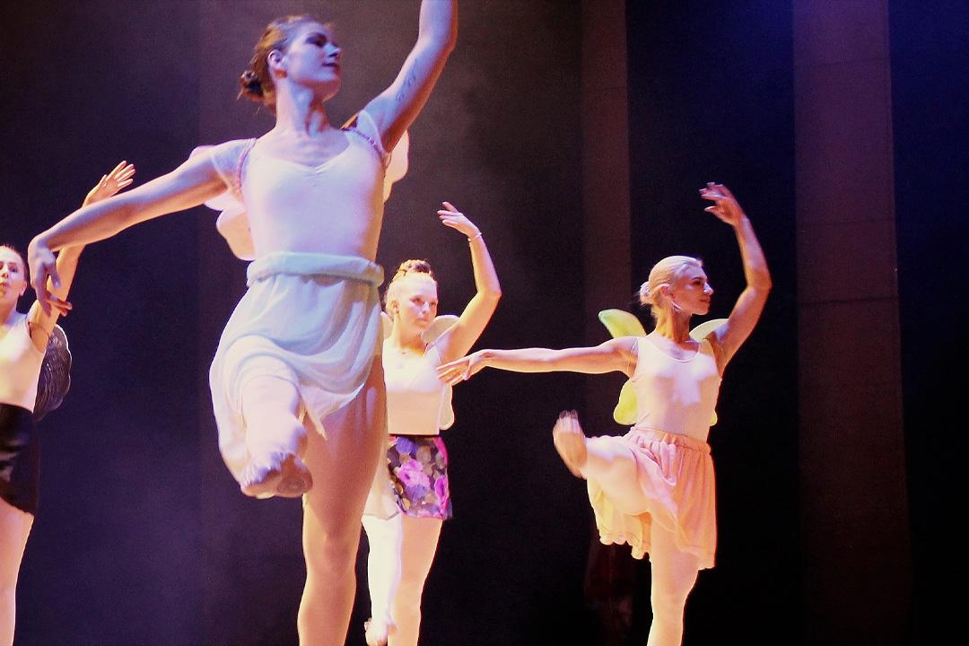 Dansklass Balett