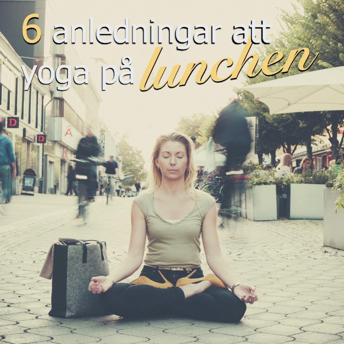 yoga lunch