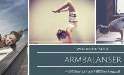 WorkshopSerie – Armbalanser