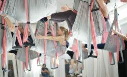 Fitnessklass YogaTrapeze